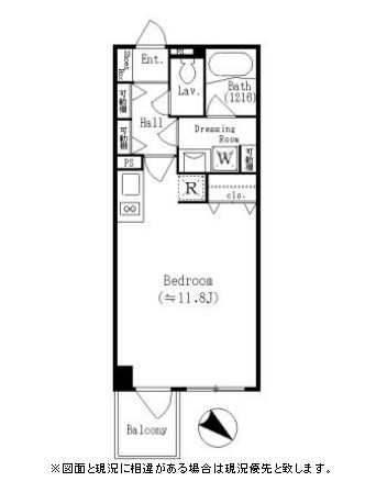 レジディア六本木檜町公園313号室