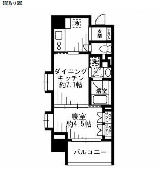 レジディア池尻大橋1101号室