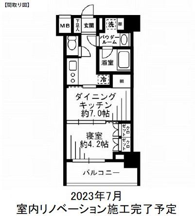 レジディア池尻大橋202号室