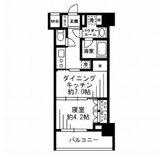 レジディア池尻大橋402号室