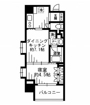 レジディア池尻大橋501号室