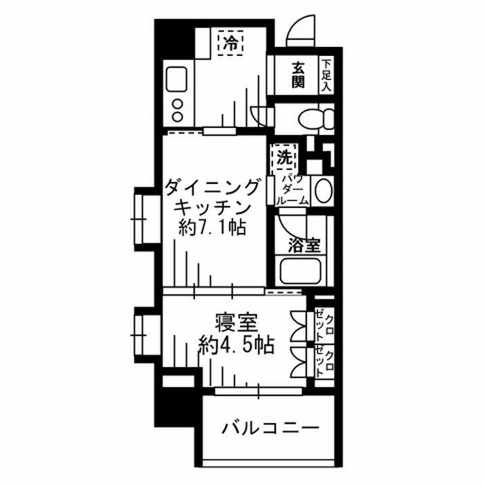 レジディア池尻大橋801号室