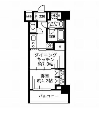 レジディア池尻大橋902号室