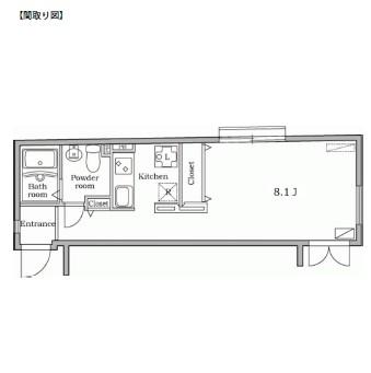 レジディア西新宿105号室