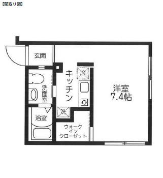 レジディア西新宿401号室