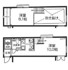 レジディア西新宿405号室