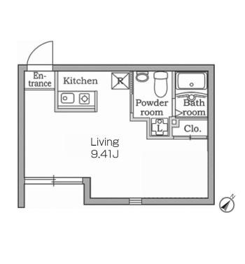 レジディア代々木102号室