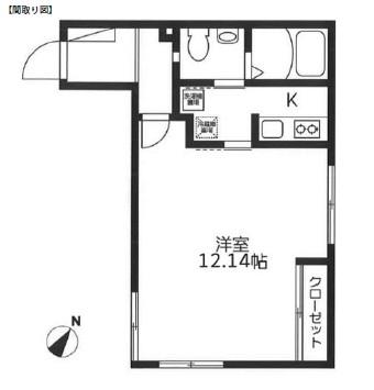 レジディア代々木104号室