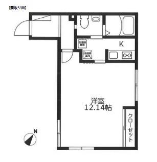 レジディア代々木304号室