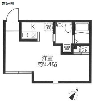 レジディア代々木403号室