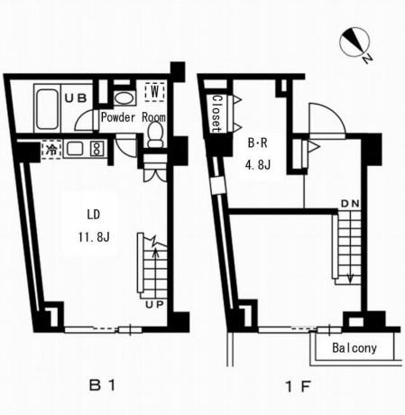 レジディア代々木の杜103号室