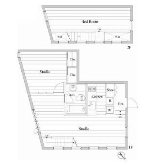 レジディア南青山203号室