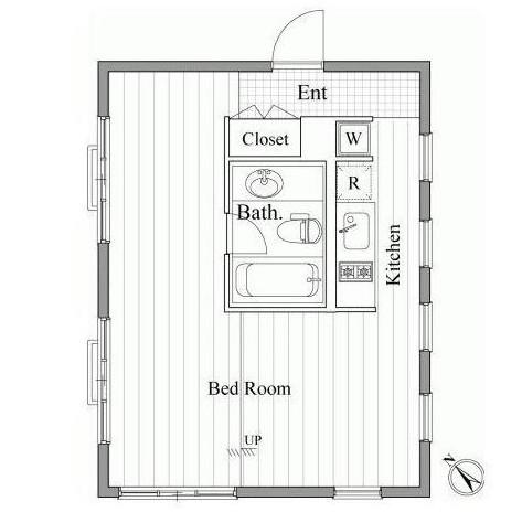 レジディア南青山304号室