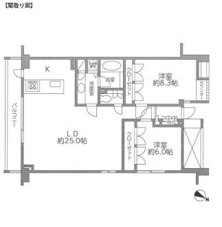 レジディア北新宿101号室