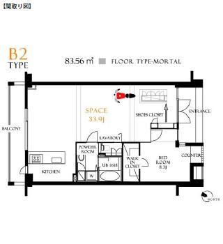 レジディア北新宿104号室