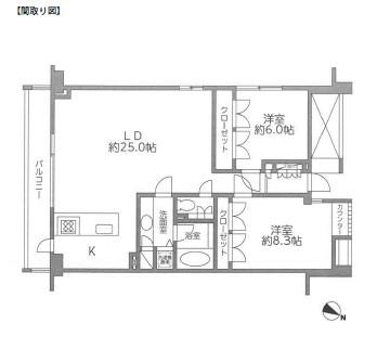 レジディア北新宿204号室