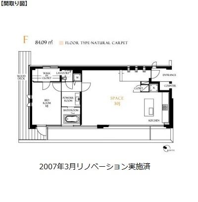 レジディア北新宿502号室