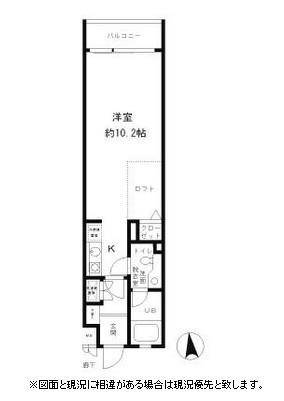 レジディア笹塚116号室
