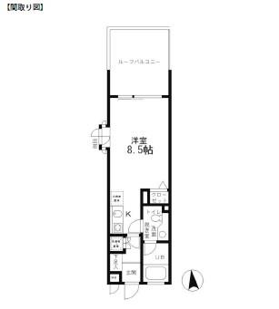 レジディア笹塚210号室