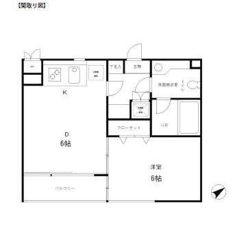 レジディア笹塚319号室