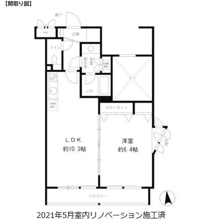 レジディア笹塚401号室
