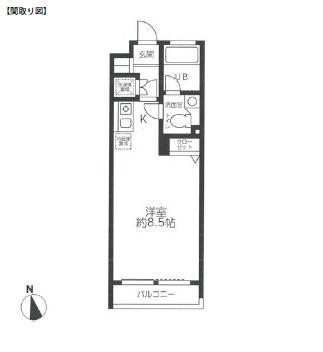 レジディア笹塚507号室