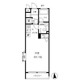 レジディア笹塚509号室