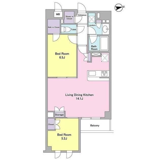 シティカレント代官山205号室
