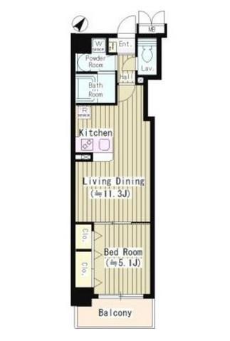 ワイズパティオ109号室