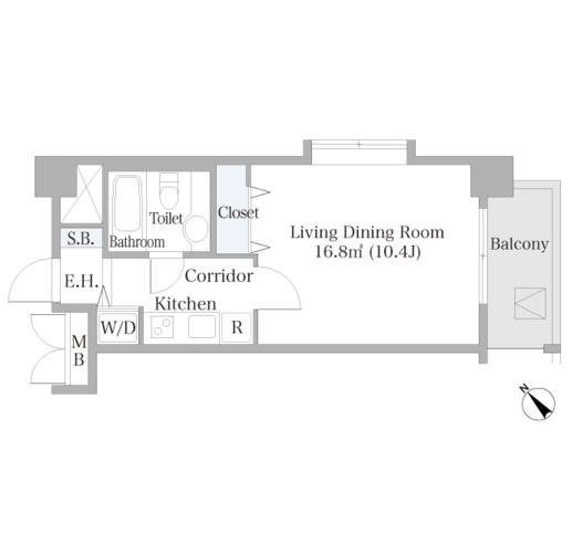 広尾ハイツ504号室