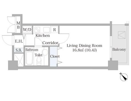 広尾ハイツ703号室