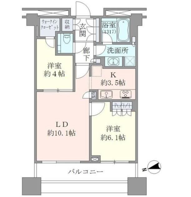 アトラスタワー西新宿602号室