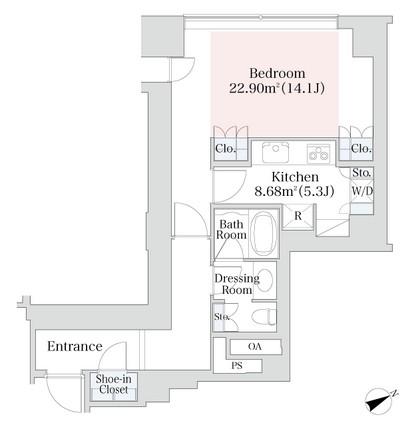 プラティーヌ西新宿1009号室