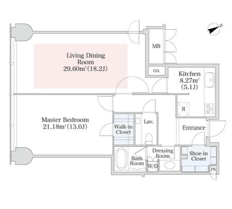 プラティーヌ西新宿1102号室