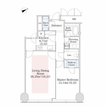 プラティーヌ西新宿1106号室
