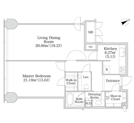 プラティーヌ西新宿1302号室
