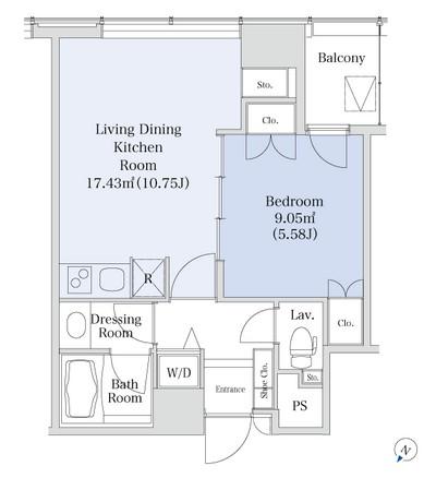 プラティーヌ新宿新都心1002号室