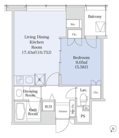 プラティーヌ新宿新都心1102号室