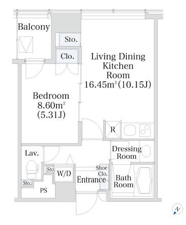 プラティーヌ新宿新都心1103号室