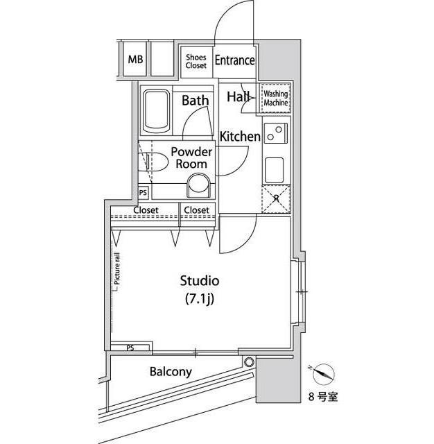 ファーストリアルタワー新宿1008号室