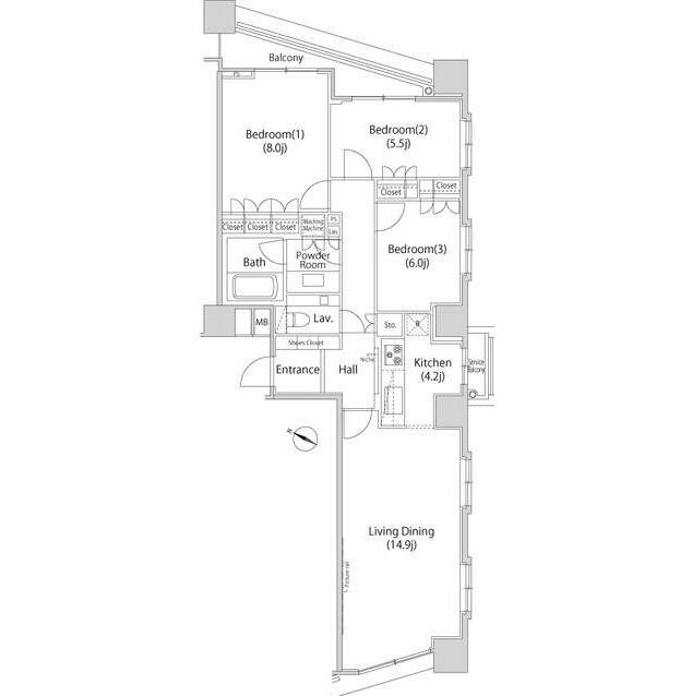 ファーストリアルタワー新宿2803号室