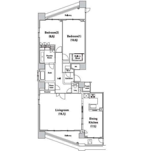 ファーストリアルタワー新宿3201号室