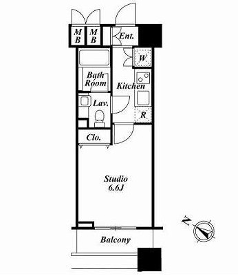 ファーストリアルタワー新宿414号室