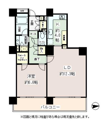 リバーポイントタワー1303号室