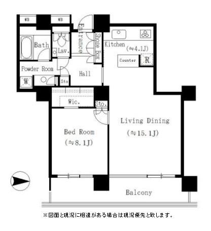 リバーポイントタワー1902号室