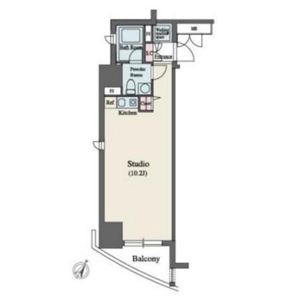 MFPR代々木タワー1102号室