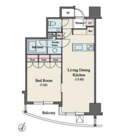 MFPR代々木タワー1602号室
