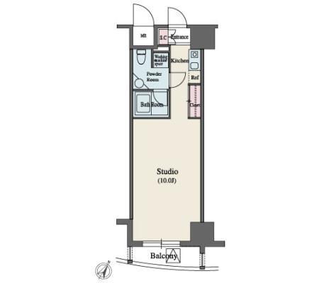 MFPR代々木タワー504号室