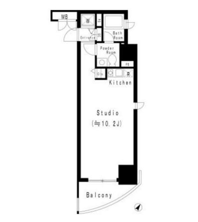 MFPR代々木タワー707号室