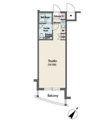 MFPR代々木タワー803号室